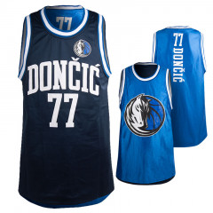 Luka dončić 77 Dallas Mavericks Pure Shooter Tank obojestranski dres