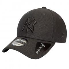 New York Yankees New Era 9FORTY Diamond Era Mono Grey Mütze