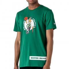 Boston Celtics New Era Block Wordmark T-Shirt