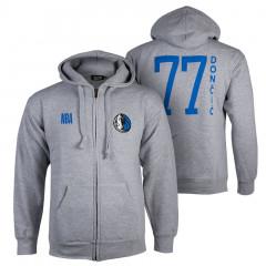 Luka Dončić 77 Dallas Mavericks N&N FZ jopica s kapuco