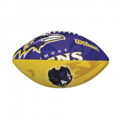 Baltimore Ravens Wilson Team Logo Junior žoga za ameriški nogomet