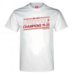 Liverpool Champions 19-20 White majica
