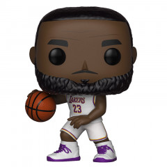 LeBron James 23 Los Angeles Lakers (White Uniform) Funko POP! Figura