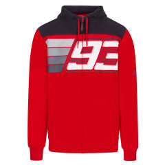 Marc Marquez MM93 Number Stripes jopica s kapuco