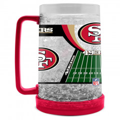 San Francisco 49ers Crystal Freezer vrč 475 ml