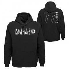 Luka Dončić Dallas Mavericks MVP pulover s kapuco