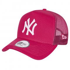 New York Yankees New Era Tonal Mesh Trucker A-Frame Pink kapa