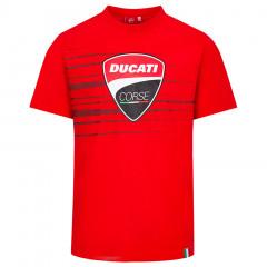 Ducati Corse Logo and Stripes majica