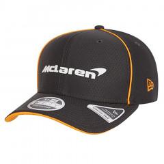McLaren New Era 9FIFTY Team Replica Hex Era Anthracite Stretch Snap kapa