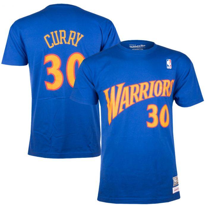 brand new 594ba 38a3b Stephen Curry 30 Golden State Warriors Mitchell & Ness majica