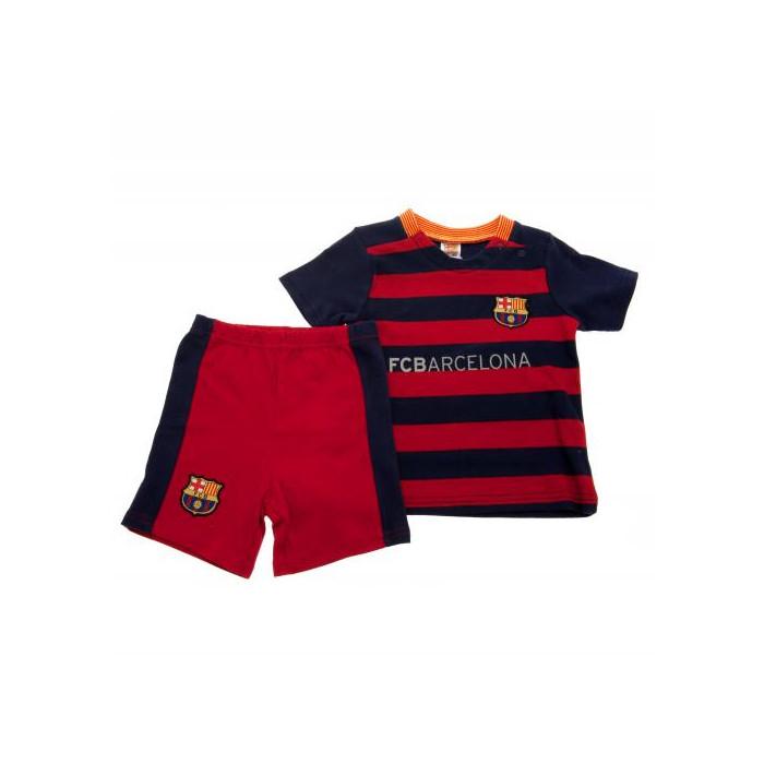 FC Barcelona Komplet T-Shirt mit kurzer Hose