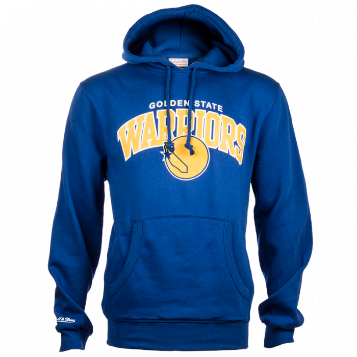 Golden State Warriors Mitchell & Ness Team Arch duks sa kapuljačom (Team Arch GOLWAR)