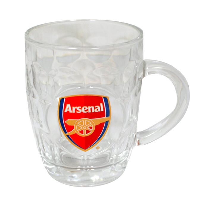 Arsenal stekleni vrč