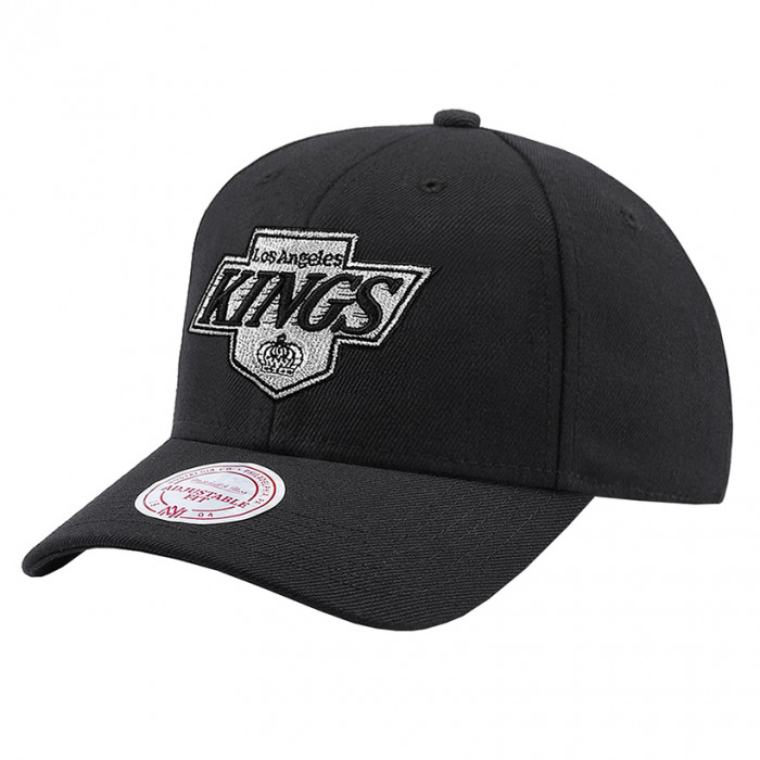 Los Angeles Kings Mitchell & Ness Team Logo High Crown Flexfit 110 Mütze