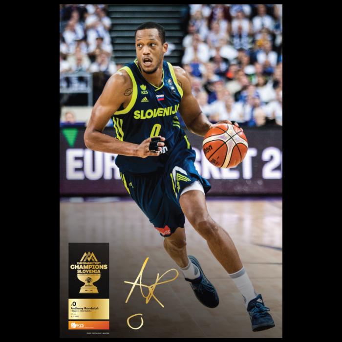 Poster Anthony Randolph Eurobasket 2017 Stadionshop Com