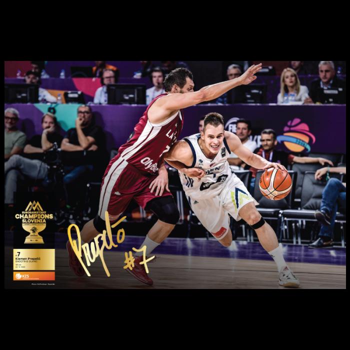 Poster Klemen Prepelič Eurobasket 2017