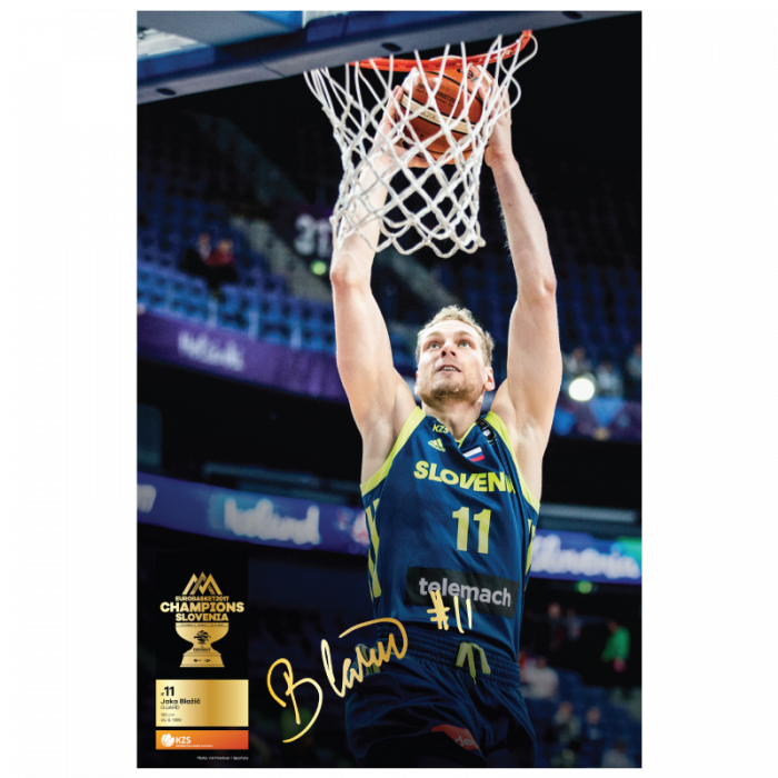 Poster Jaka Blažič Eurobasket 2017