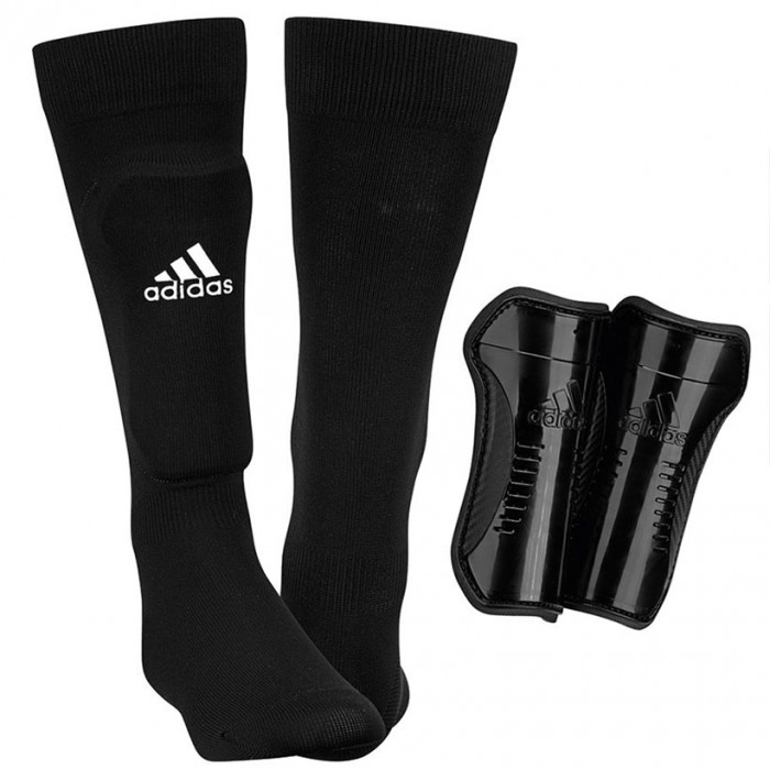 Adidas Kinder Fußball Socken mit Schienbeinschoner (AH7764)