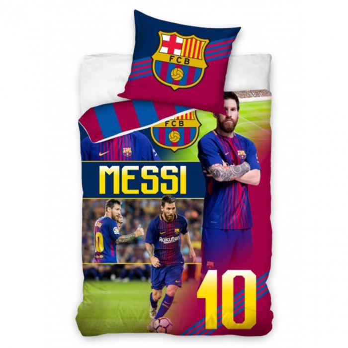 Fc Barcelona Messi Bettwasche 140x200