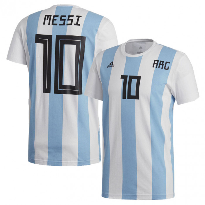Argentinien Messi Adidas T Shirt (CW2146)