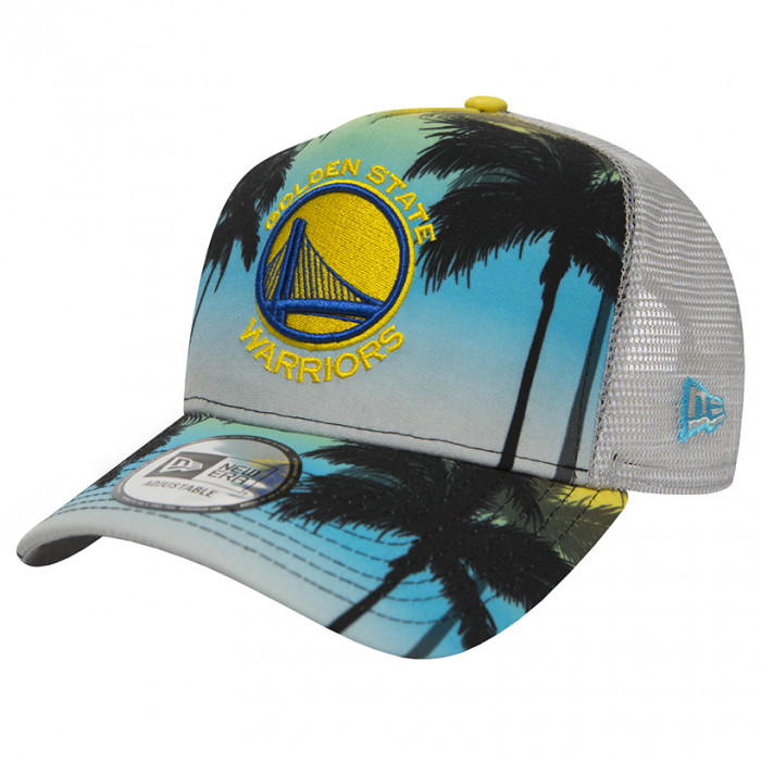 Golden State Warriors New Era Coastal Heat Trucker kapa (80581162)