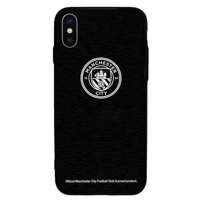Manchester City iPhone X Aluminium Handyhülle