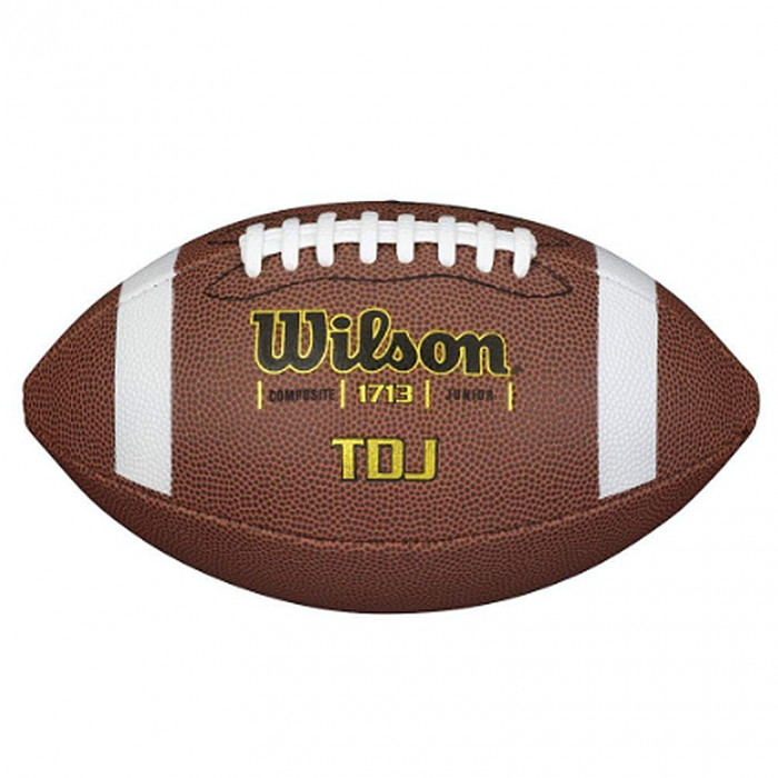 Wilson TDJ Composite Junior Ball für American Football (WTF1713X)