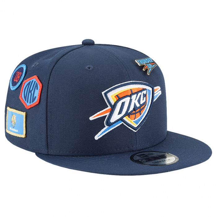 Oklahoma City Thunder New Era 9FIFTY 2018 NBA Draft Mütze (11609140)