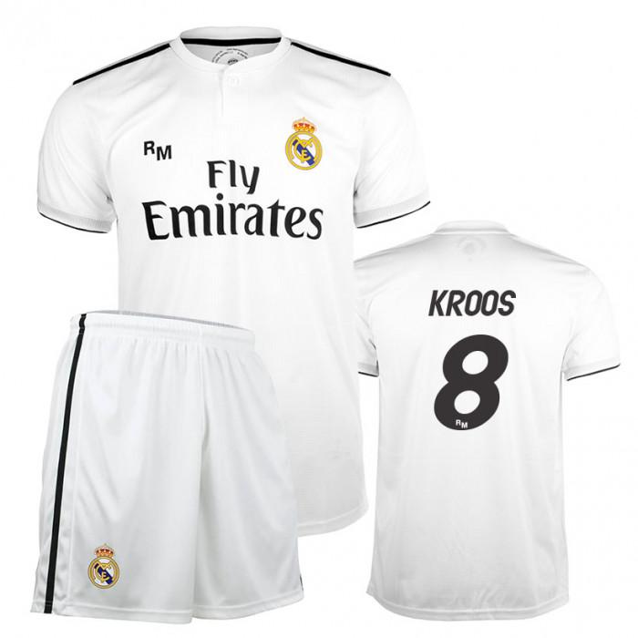 Kroos 8 Real Madrid Home Replica Kinder Trikot Komplet Set