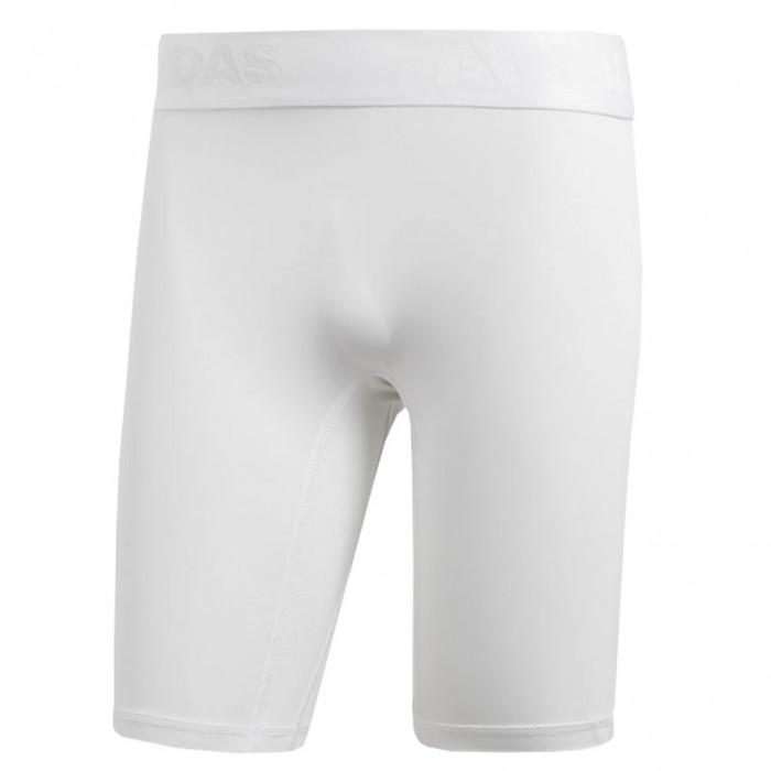 pantaloni corti adidas bianchi