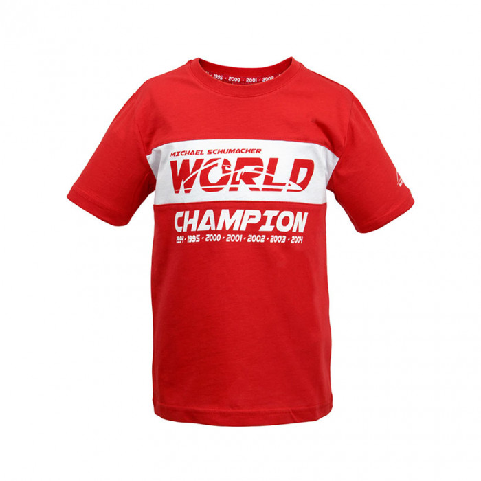 Michael Schumacher World Champion otroška majica