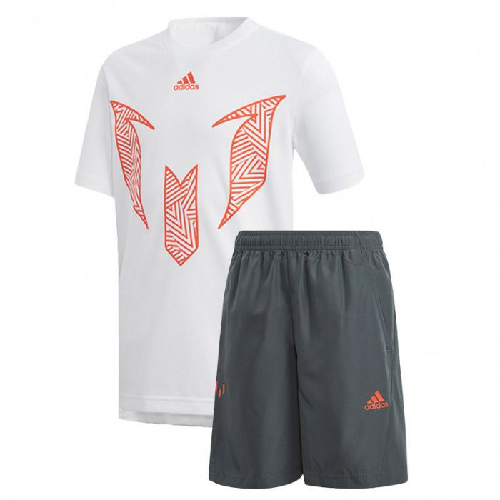 adidas shorts und shirt set kinder