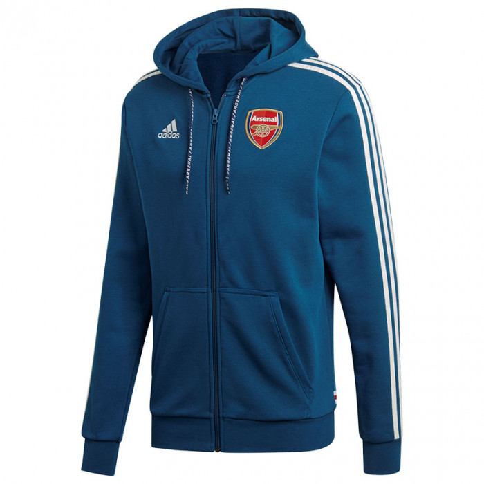 Arsenal Adidas jopica s kapuco