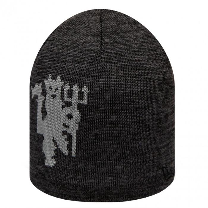 Manchester United New Era Black Skull zimska kapa