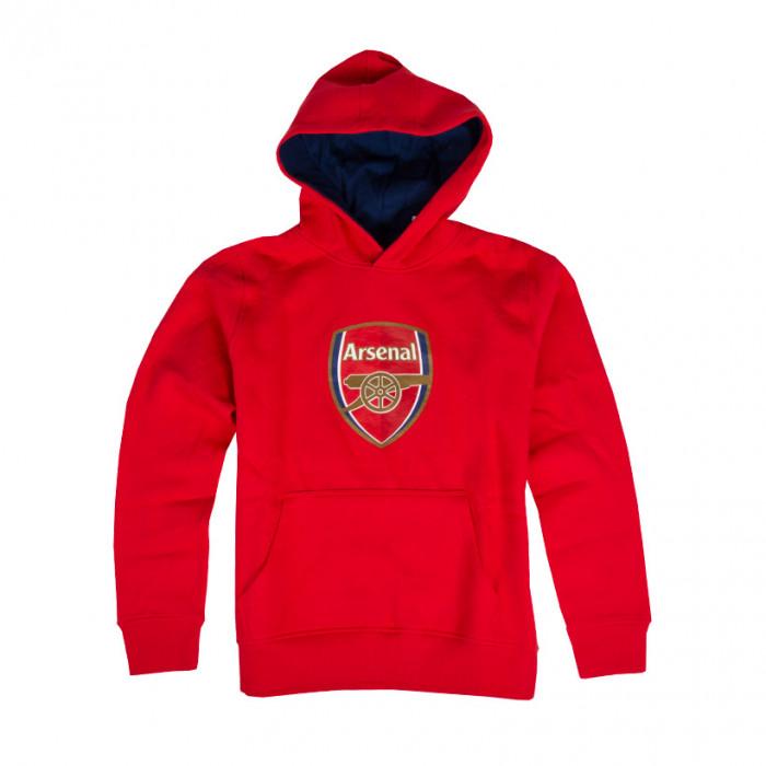 Arsenal Crest dečji duks sa kapuljačom