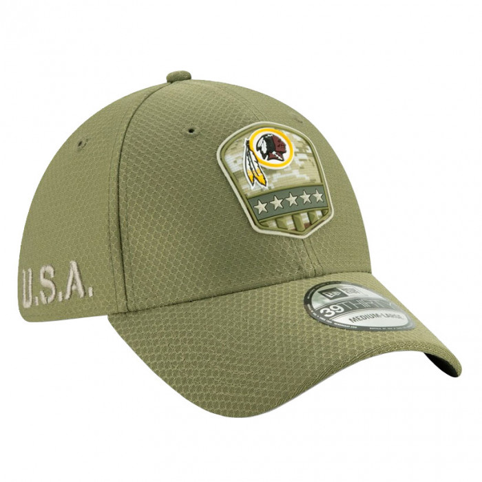 NEW Era 39 THIRTY Cap-salutate to service Seattle Seahawks