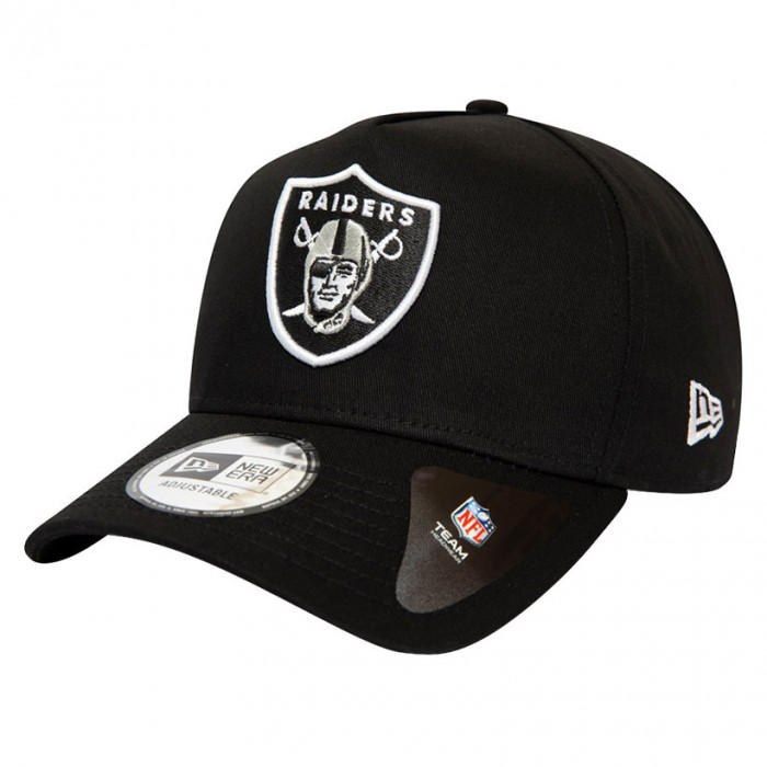 Las Vegas Raiders New Era 9FORTY A-Frame Closed Back kapa