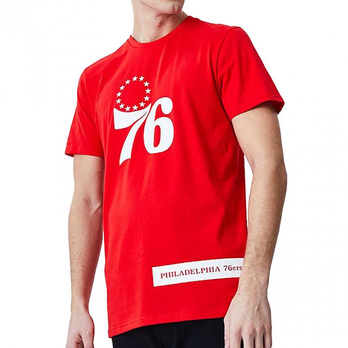Philadelphia 76ers New Era Block Wordmark majica