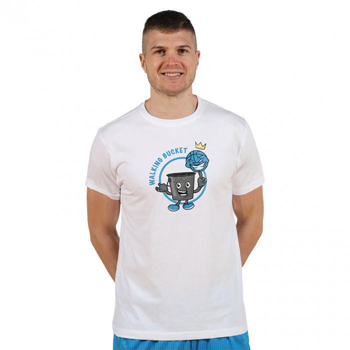 Moška majica IFB Walking Bucket bela