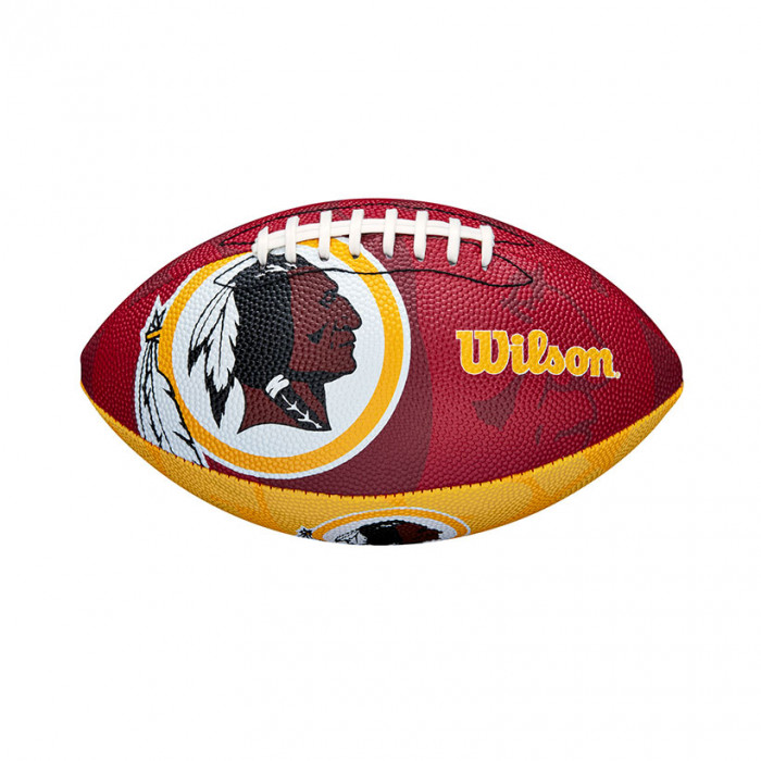 Washington Redskins Wilson Team Logo Junior žoga za ameriški nogomet
