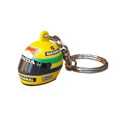 Ayrton Senna Helmet 1988 3D obesek čelada