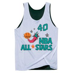 Shawn Kemp 40 Seattle Supersonics All Star 1996 Mitchell & Ness obojestranski Mesh Tank Top