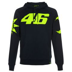 Valentino Rossi VR46 Sun and Moon pulover s kapuco