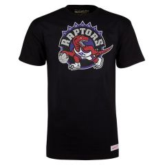 Toronto Raptors Mitchell & Ness Pushed Logo majica
