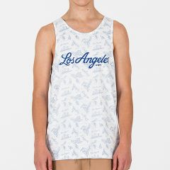 Los Angeles Dodgers New Era Island Tank majica brez rokavov