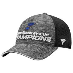 St. Louis Blues 2019 Stanley Cup Champions Locker Room Trucker kapa