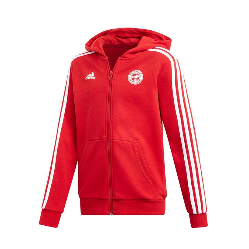 FC Bayern München Adidas Kinder Kapuzenjacke