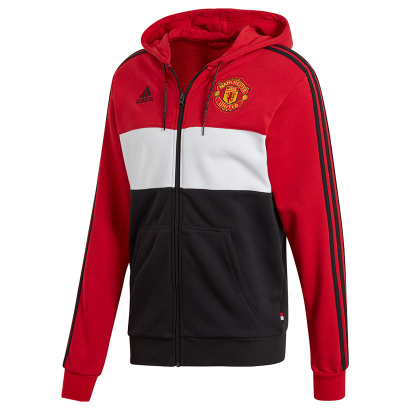 Herren Sweatshirt adidas Manchester United FC SF Grey