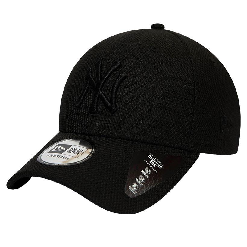 new york yankees new era 9forty diamond era mono black cap