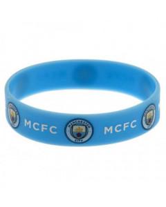 Manchester City Silikon Armband